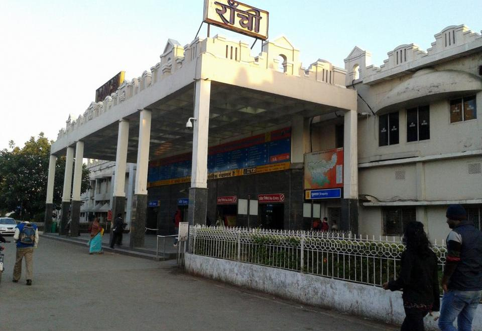 railway station ranchi local feedback