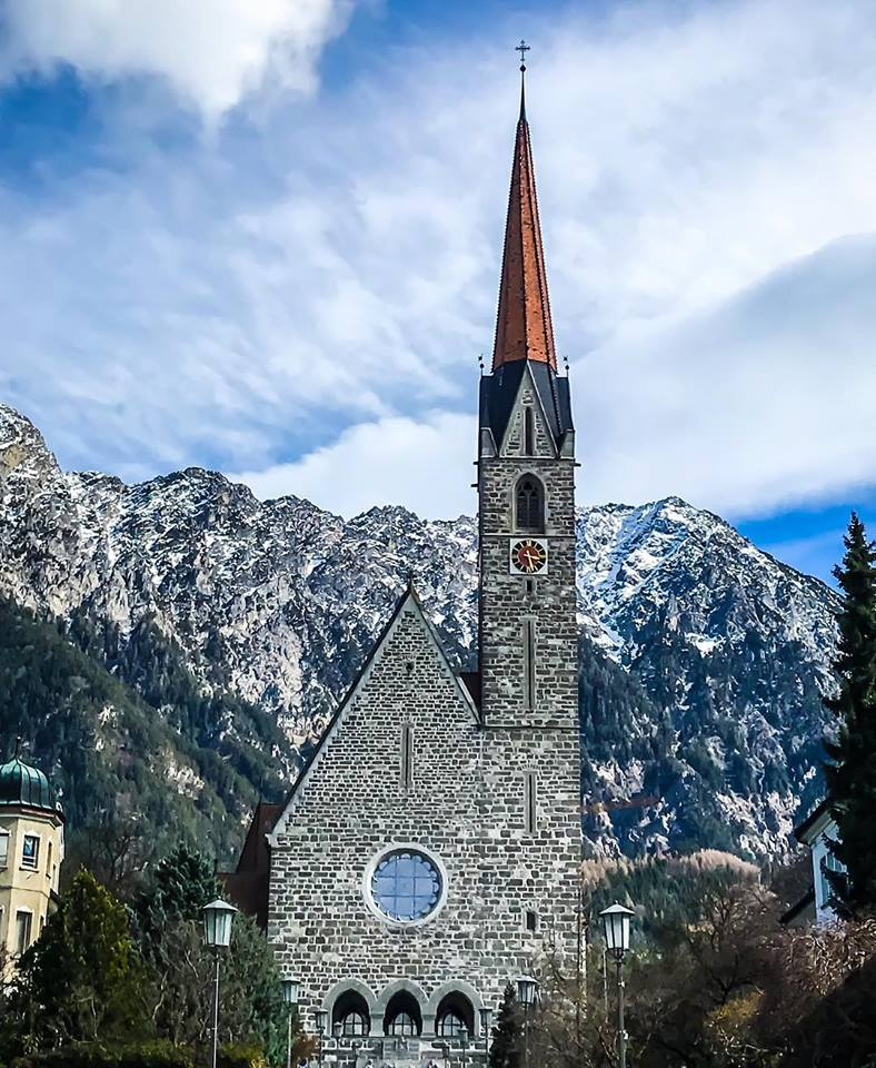 liechtenstein old church