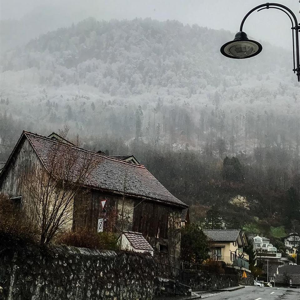 liechtenstein vaduz mountains