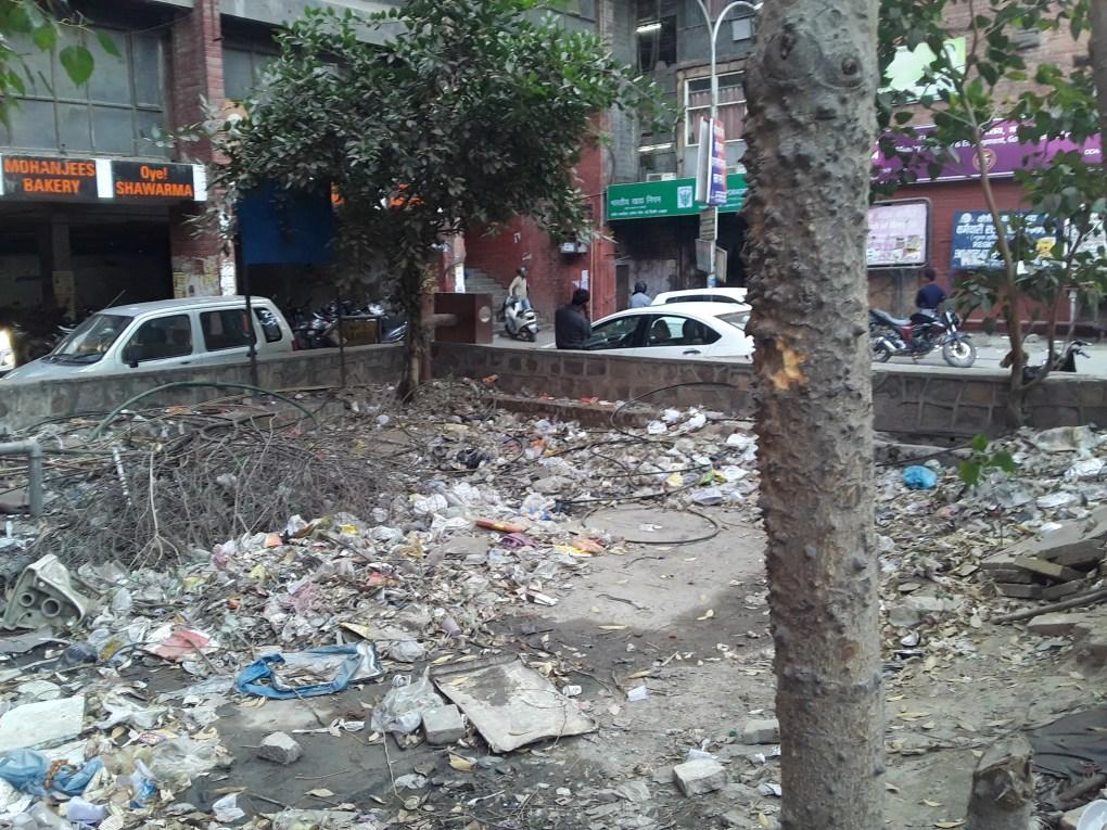 rajendra place garbage dump new delhi local feedback