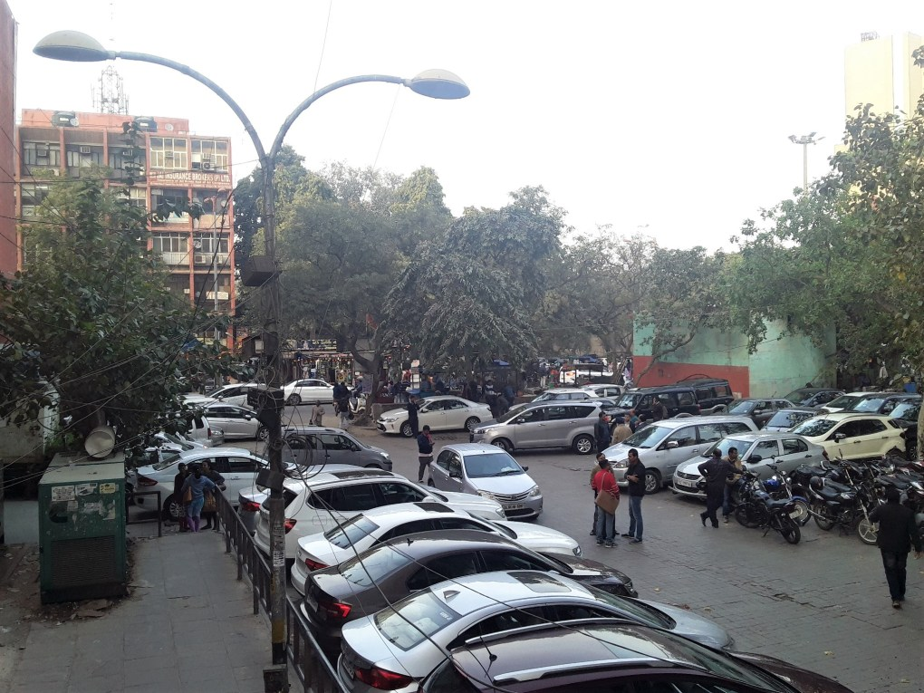 rajendra place car parking new delhi local feedback