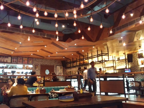 am pm cafe ambience mall gurgaon