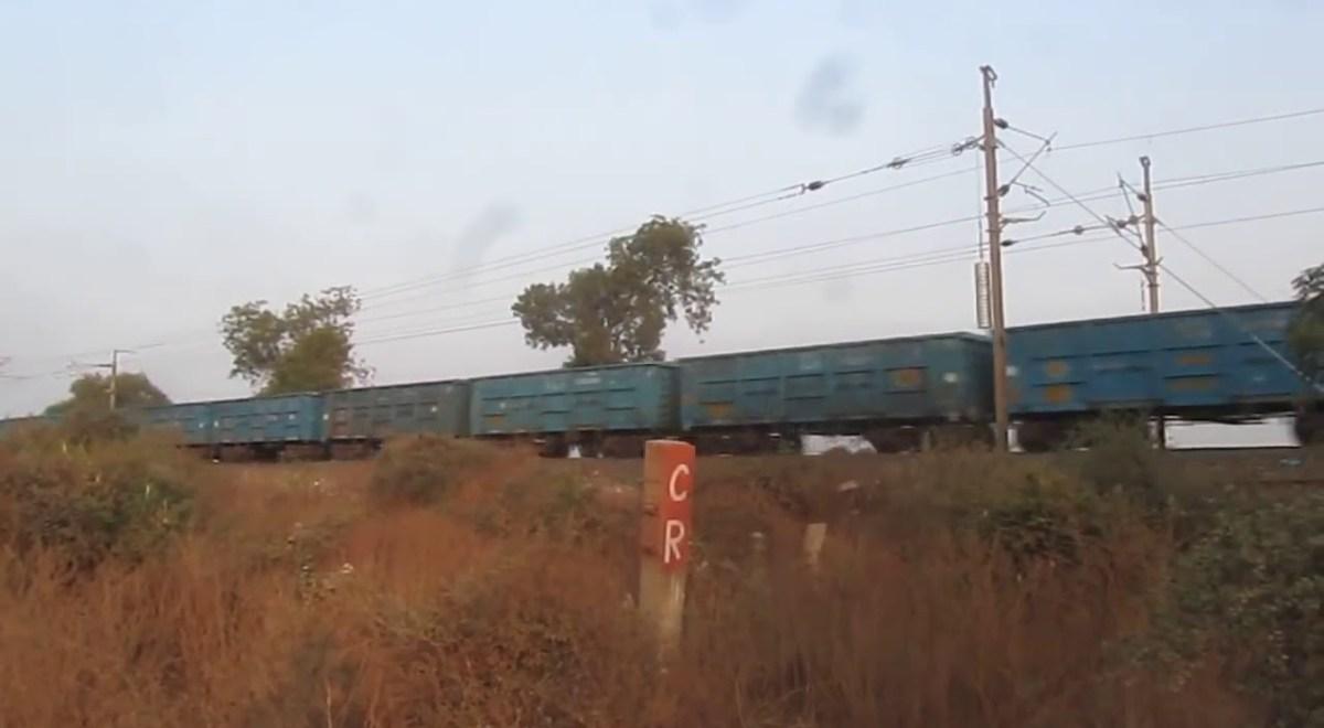 Asoda village maharashtra rialway crossing