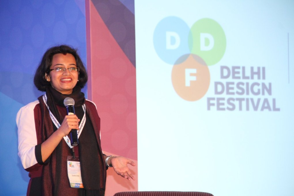 susmita talk on stage