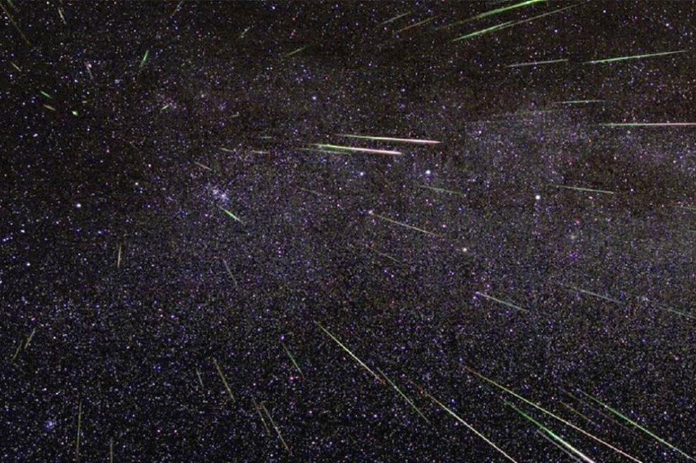 meteor shower stargazing near delhi
