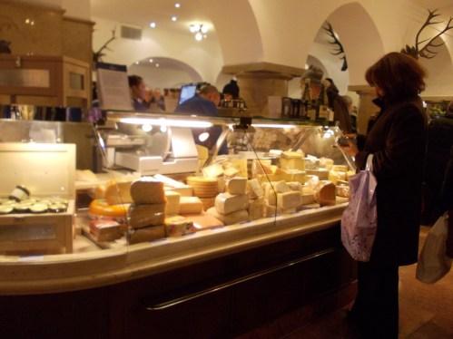 Dallmayr cheese section