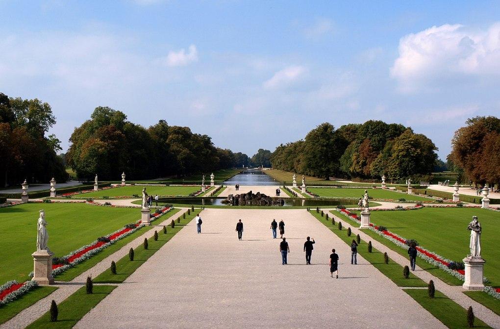 Grand parterre Nymphenburg