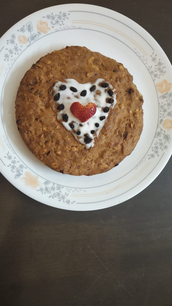 vegan anniversary cake