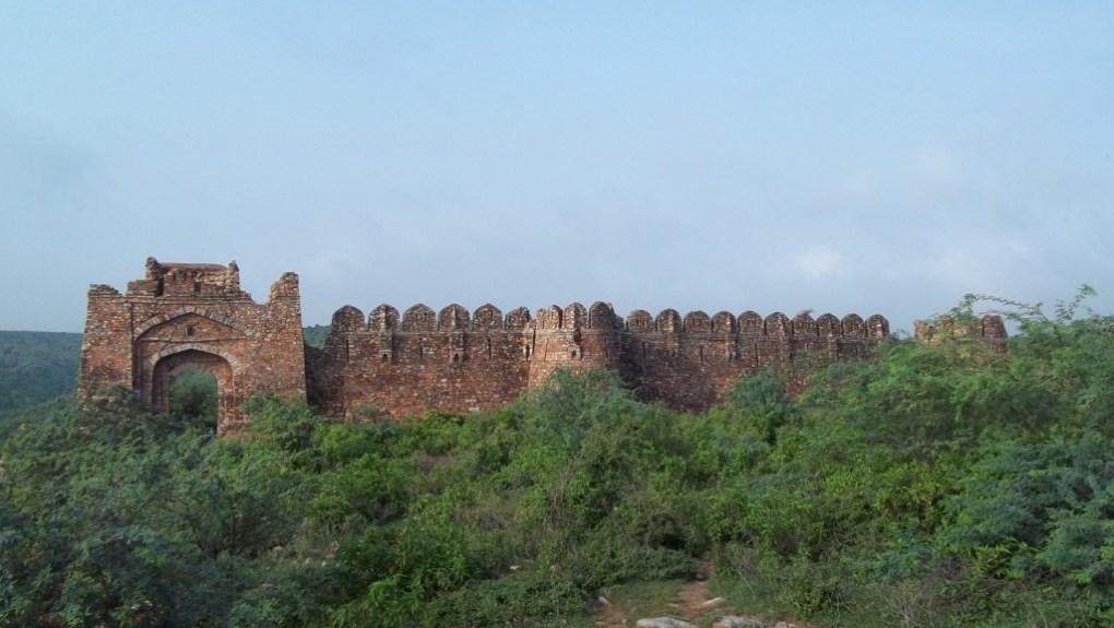 ferozepur jhirka village kotla fort