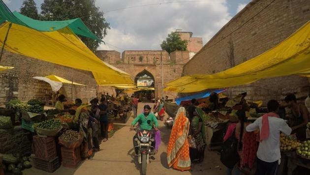 chanderi dholiya darwaza near pranpur village