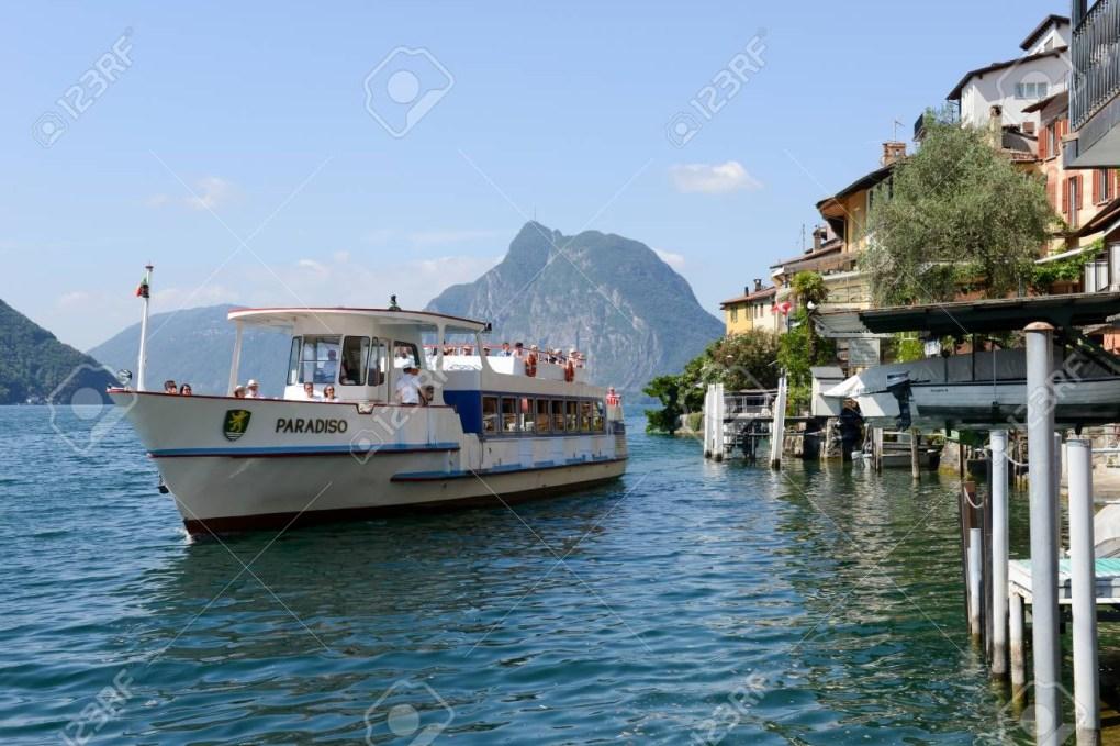 gandria to lugano lake lugano boat cruises