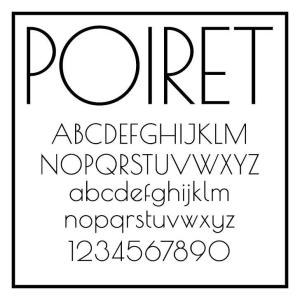 Poiret One