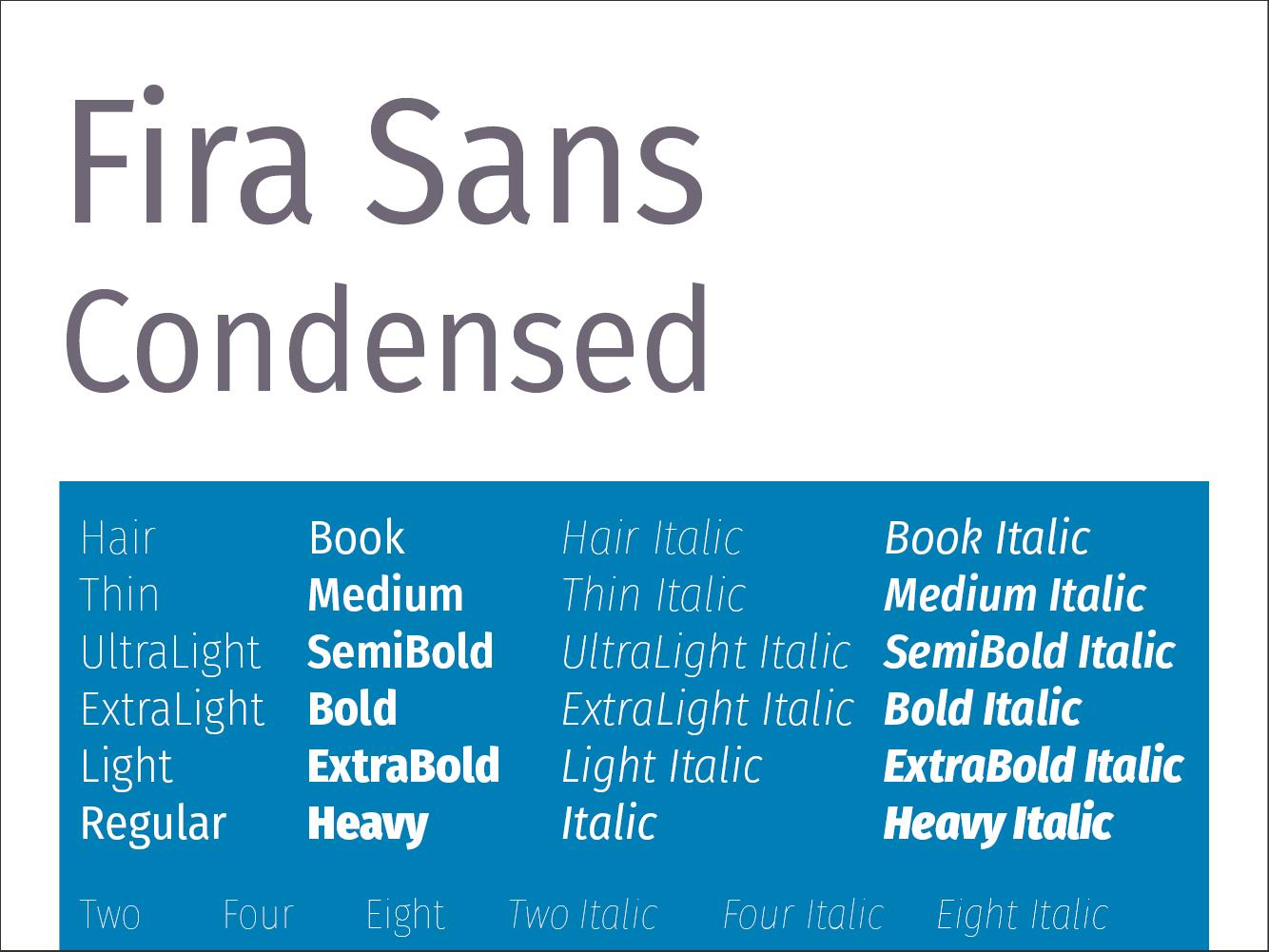 Fira Sans Condensed
