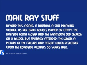 Mail Ray Stuff