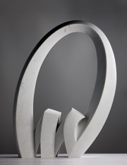 "Julia Vance | Tid means ""time"" n Norwegian. | Marble, 102 x 74 x22 xcm"