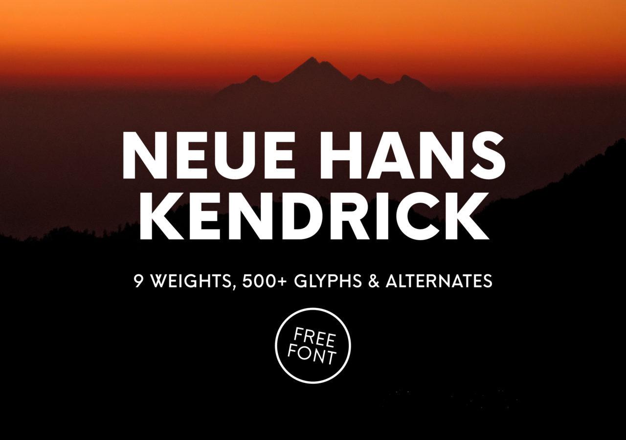 Neue Hans Kendrick