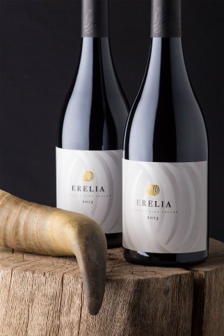 Erelia Wine Label Design by the Labelmaker