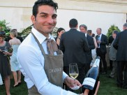 Roederer Champagne at Chateau Latour dinner June 18 2017 photo by Paige Donner copyright 2017 IMG_2457