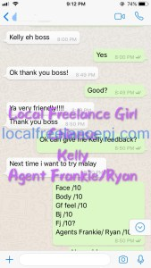 Local Freelance Girl - Kelly - Chinese - Pj