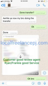 Thank you my customer good review