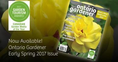 Ontario Gardener Early Spring 2017 issue
