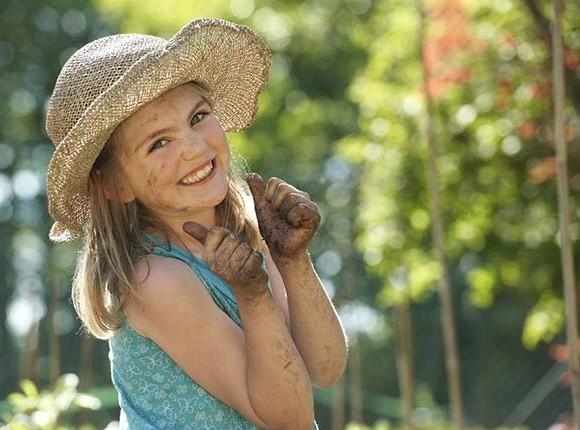 happy gardener