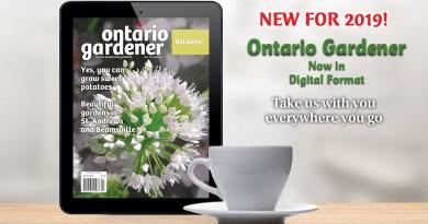 Ontario Gardener mag app