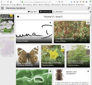 Manitoba Gardener magazine app desktop version