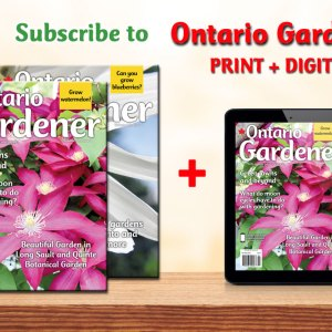 ontario gardener print plus digital