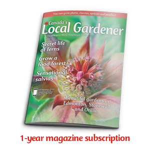 1 year subscription to Canada's Local Gardener magazine