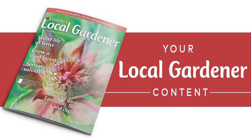 Local gardener content