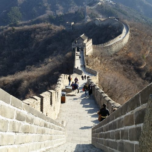 Great Wall when there's almost no body