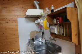 Fully equipped pricate kitchen, cottage room. Little Asia guesthouse minamiaso