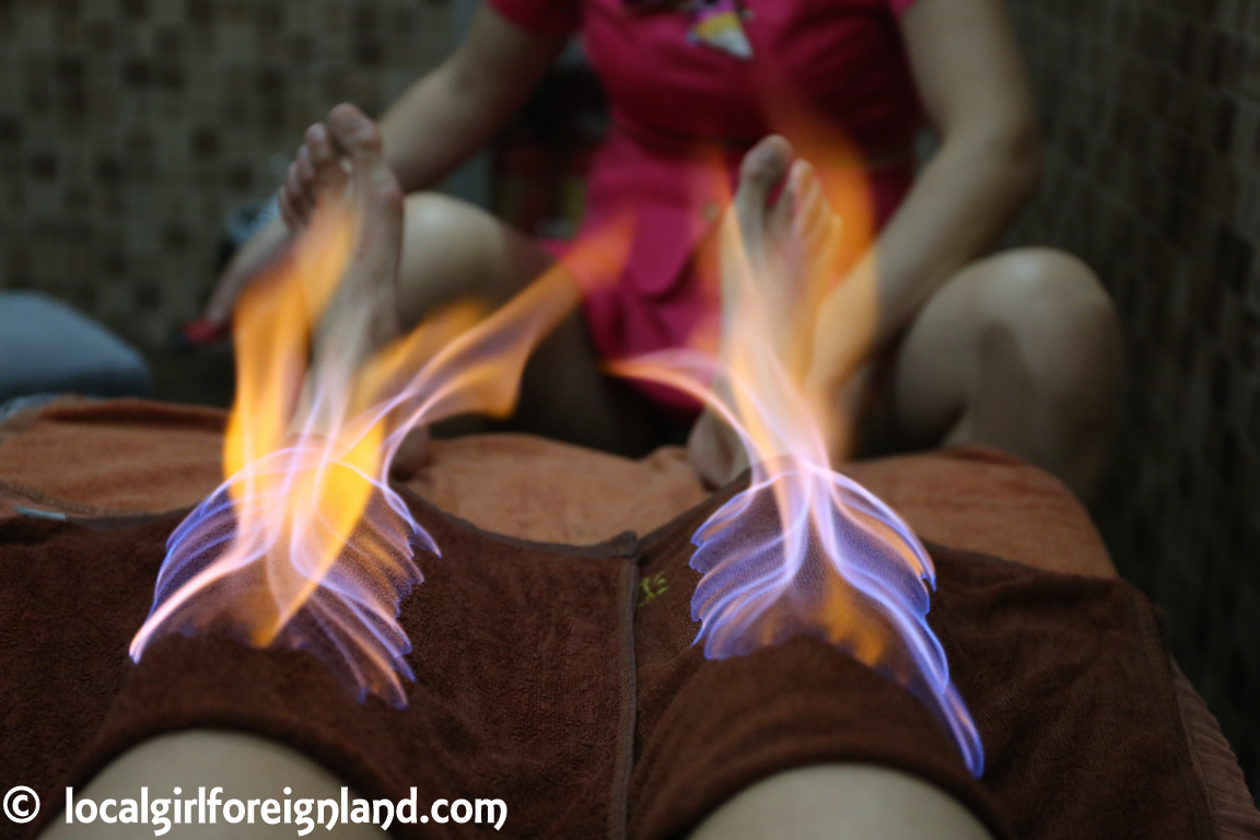 Fire massage, Guangzhou