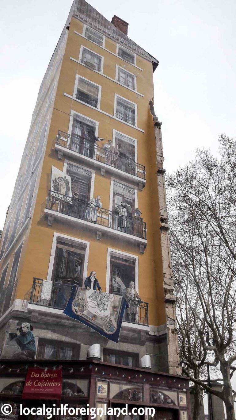 La Fresque des Lyonnais, Lyon