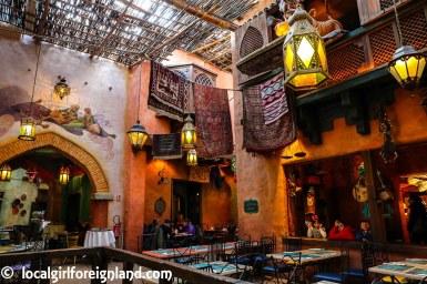 Agrabah Café, Adventureland, Disneyland Paris
