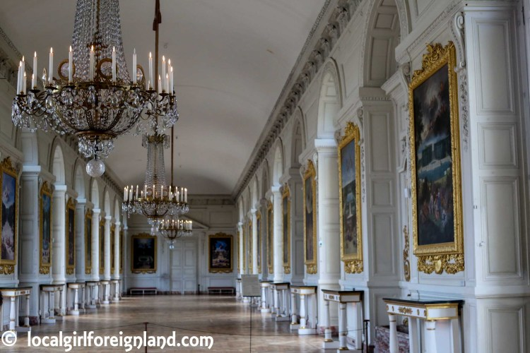 Cotelle Gallery - Grand Trianon, the pink marble palace, Versailles. France