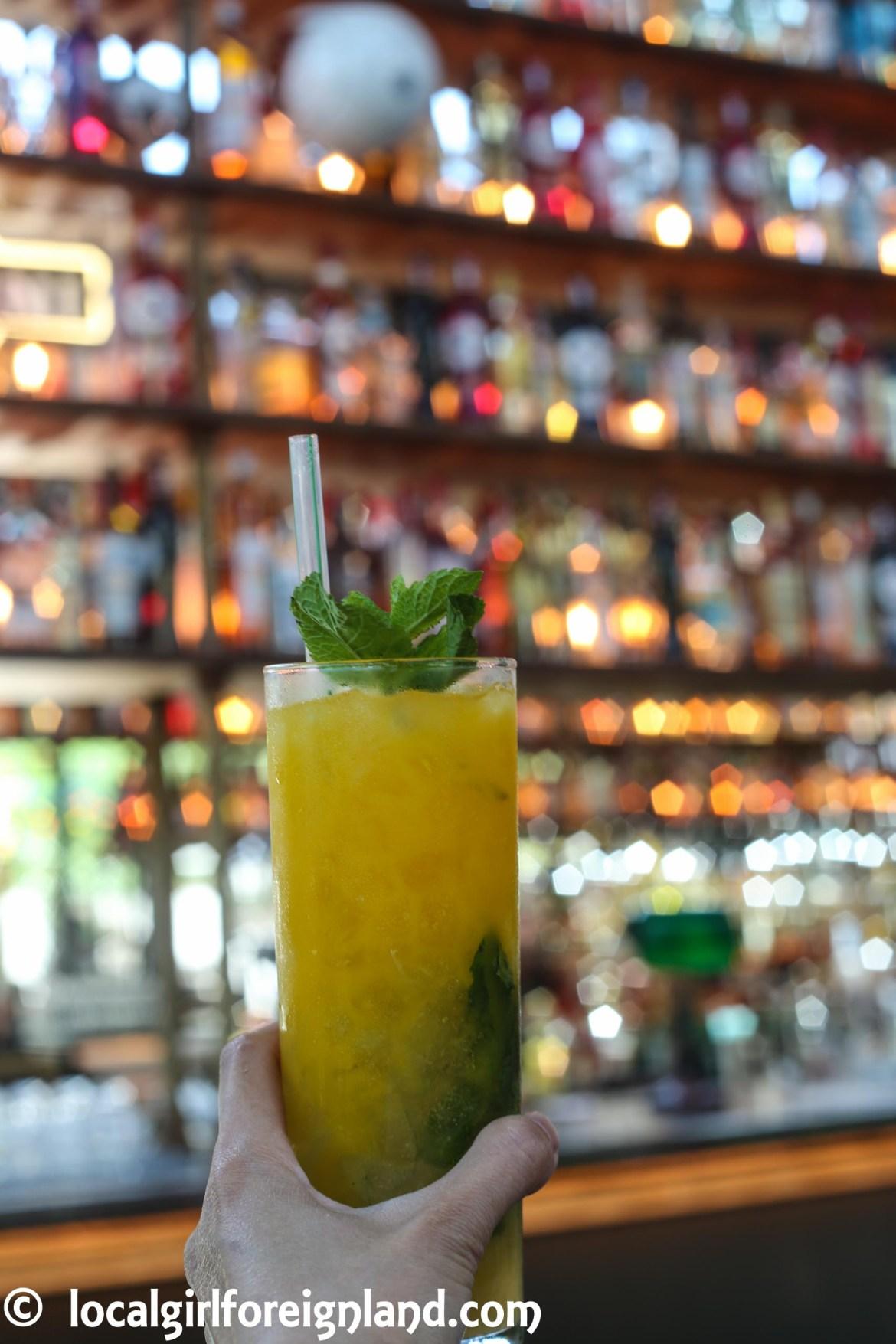 Mojito, cocktail bar at La Felicità
