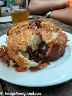 Brioche nutella, Caffeteria