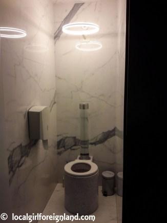 Marble themed toilets, La Felicità