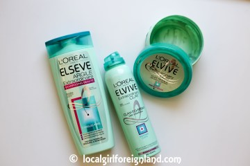 L'oreal- Elvive-Extraordinary-Clay-collection-empties-review