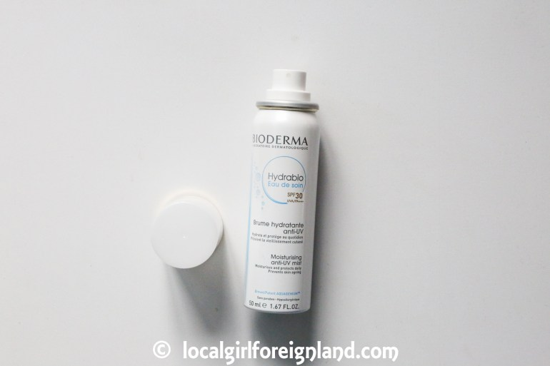 Bioderma Hydrabio eau de soin moisturising anti-UV mist product review-0973.JPG