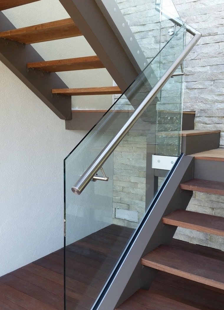 Glass Railings Orange County Local Glass Screen Irvine Ca   Glass Panel Stair Railing   Toughened   Square   Framed Glass   Staircase   Banister