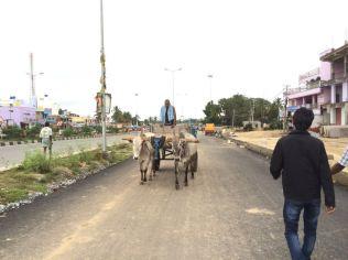 Nangali Gram Panchayat Highway road