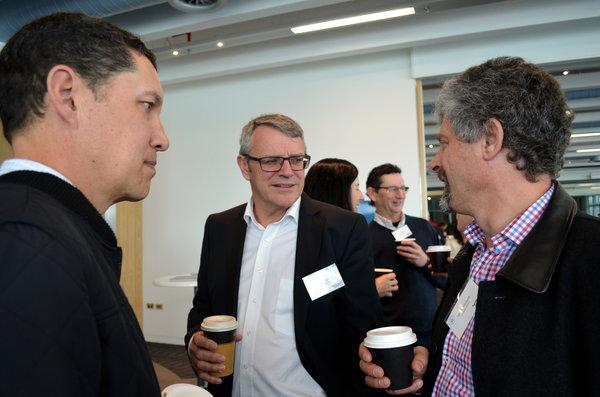 James Young, Roger King & James Corbett (all Auckland Council).