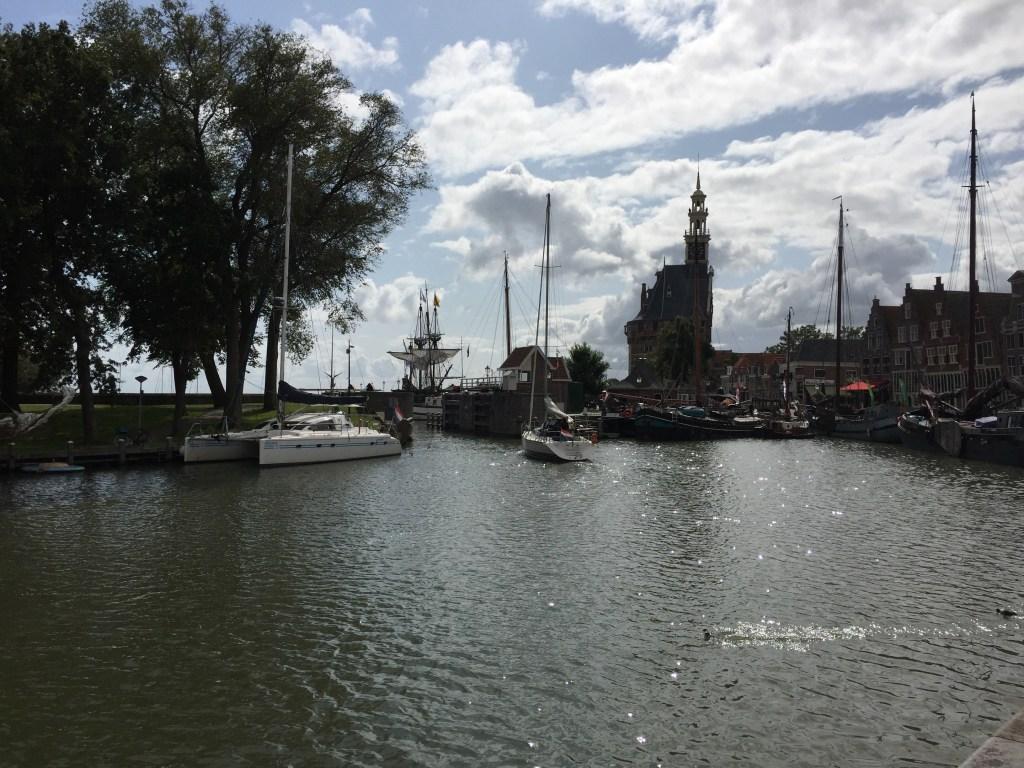 Zicht vanuit de Oude Binnenhaven Hoorn - Local Guide Hoorn