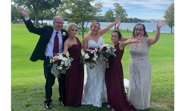PHOTO: A great day for a wedding