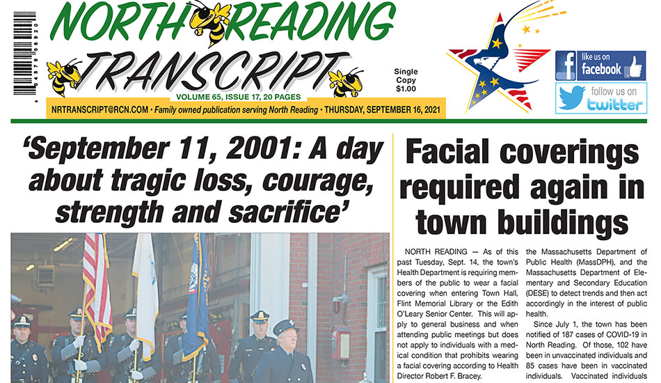 Front Page: September 16, 2021