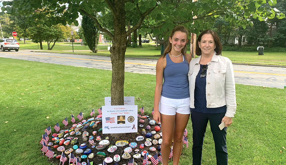 Paige Martino honors a 'Bruins legend'