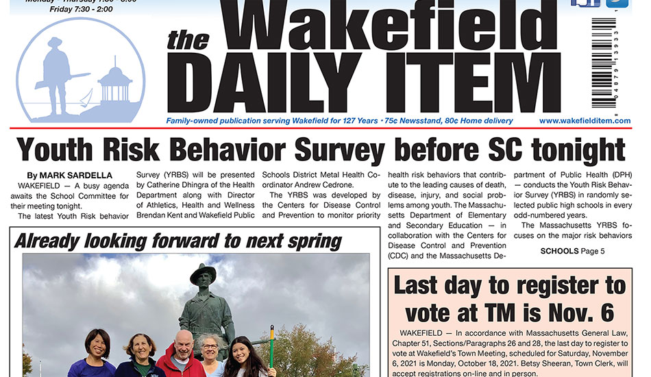 Front Page: October 12, 2021